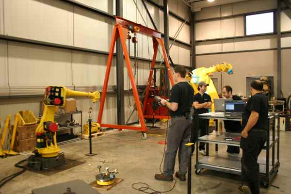 Fanuc Robotics Training